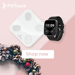 Fit Track Christmas Banner