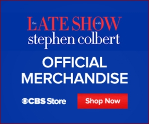 Buy Official Late Show with Stephen Colbert Merchandise Now!