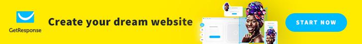 New! GetResponse Website Builder