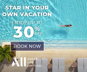 AccorHotels  Black Friday & Cyber Monday 40% off