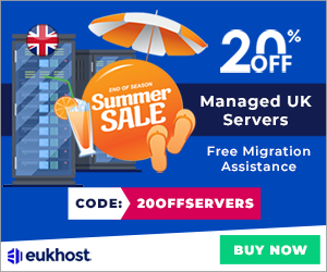 eUKhost Special Offer: 20% OFF Dedicated Servers