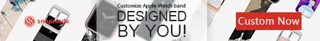 Snapmade 2015 - Custom Apple Watch Bands - 468*60