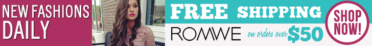 Free shipping on orders over $50 at ROMWE.com! New Fashions Daily!