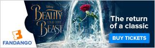 Fandango Beauty and the Beast Ticketing Banner