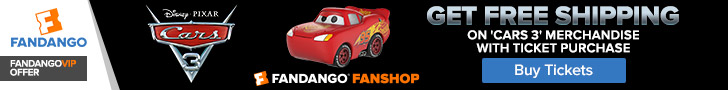 Fandango - Cars 3 FanShop GWP