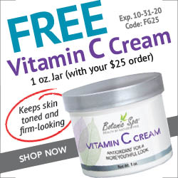 Botanic Choice free gift with $25 order plus free shipping on $50