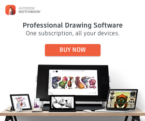 Sketch Book, Professional Drawing Software