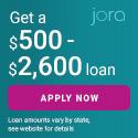 Jora Credit Banner