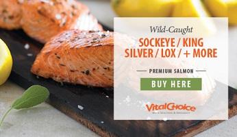 Premium Salmon!  SAVE 5% On Healthy & Delicious Premium Salmon From Vital Choice!