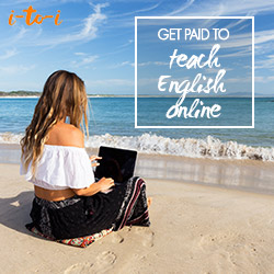 Get paid to travel by teaching overseas!