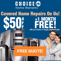 1 month Free with purchase of single payment plan. Get Free Quote in 30 second. - ChoiceHomeWarranty.com