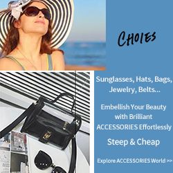 Sunglasses, Hats, Bags, Jewelry, Belts...            Steep & Cheap      Explore ACCESSORIES World >>