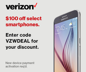 Verizon Wireless promo code $100 Off
