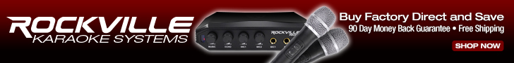 Rockville audio, Car Audio, Sound Equipment, Video gear, karaoke, mic, microphone, sound system