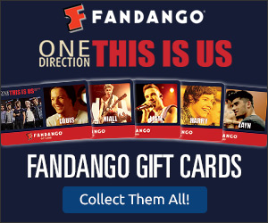 One Direction Gift Cards