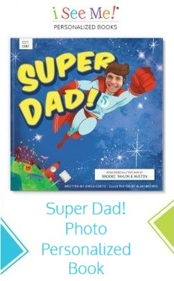 Super Dad! Photo Personalized Book