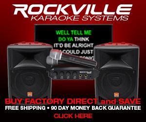Karaoke Systems - Rockville.com