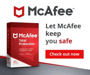 mcafee gratuit pour mac et pour Windows