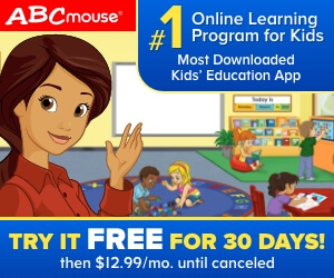 ABCMouse.Com - ABCmouse 30 Day Trial 300×250