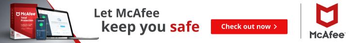 McAfee - Keep you Safe - Ireland