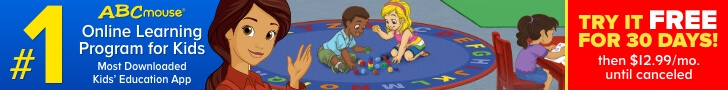 ABCMouse.Com - ABCmouse First Month Free! 728×90