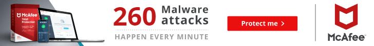 McAfee - Malware attacks - Ireland