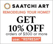 Save 10% at Saatchi Art