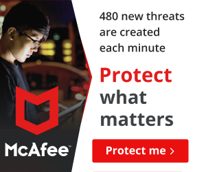 Norwegian - McAfee® Total Protection for 10 Devices coupons
