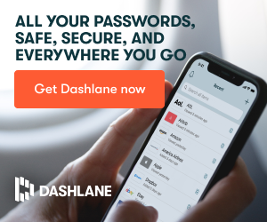 All your passwords together with Dashlane