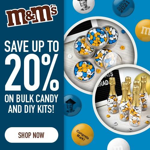 10% Off 2lb, 15% off 5lb, 20% off 10lb Bulk Candy & DIY! Use Code BIGDEALS! Valid 6/1-6/5!
