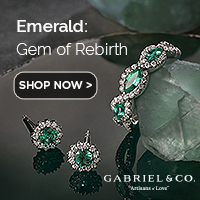 May Birthstone Emerald Fine Jewelry Banner