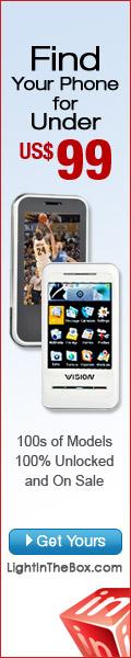 Cell phones at LightInTheBox.com