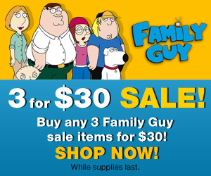 Shop the Official Family Guy Store and SAVE