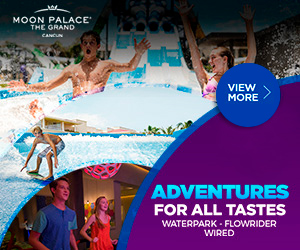 Enjoy at The Grand at Moon Palace our activities and tours: Water Park, Flowrider, Wired and more.