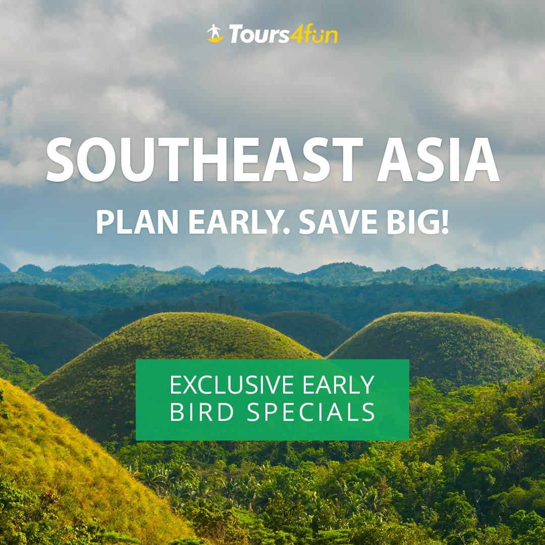 Early Bird to SE Asia: Up to 20% Off