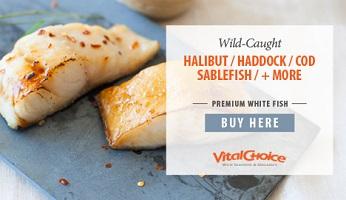 Premium Whitefish!  SAVE 5% On Wild & Delicious Premium Whitefish From Vital Choice - Get Free Shipp