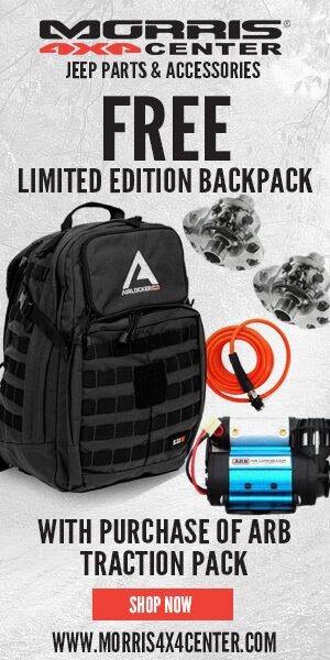 ARB - Buy Traction Pack GET FREE Back Pack