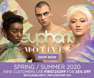 Image for (MC) Try the new Motives Cosmetics Spring / Summer Euphoria Collection. New Customers save 25% with code FIRST25OFF. $25 max savings. Shop Now! (Valid thru8/31)