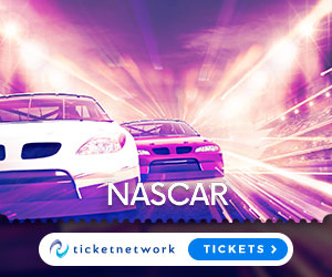 Get Your  NASCAR Tickets now!