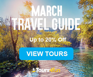 The March Travel Guide is here! Maximize your Spring Adventures with up to 20% off trips at Tours4Fu