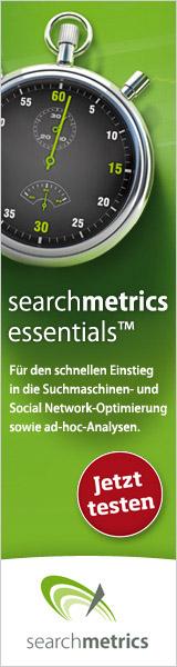Searchmetrics Essentials - SEO Analyse Tool