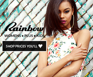 Rainbow Shops Coupons and Deals - Women's Clothing