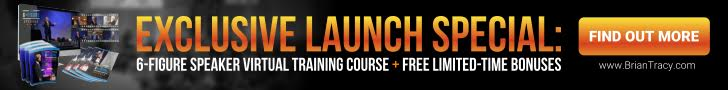 728x90 Exclusive Launch - 6-Figure Speaker Virtual Training + Free Bonuses