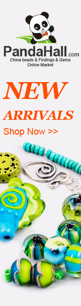 New arrival on findings, jewelry beads, gemstone beads, pearls, glass beads, tools and much more.