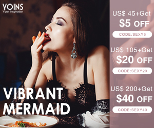 US$105+ get $20 off for sexy lingeries
