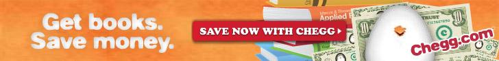 Get Books. Save Money. Chegg.com