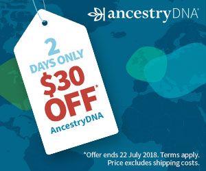 Save $30 on AncestryDNA