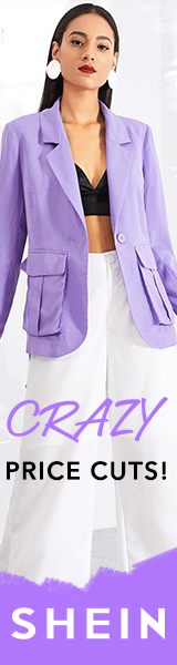 Create your look - with CRAZY Price Cuts on now at SheIn.com.  Limited Time Offer