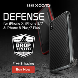 Image for Defense Metal Series for iPhone X, iPhone 8/7 and iPhone 8 Plus/7 Plus