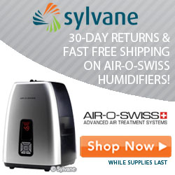30-Day Returns And Fast Free Shipping On All Air-O-Swiss Humidifiers - Sylvane.com